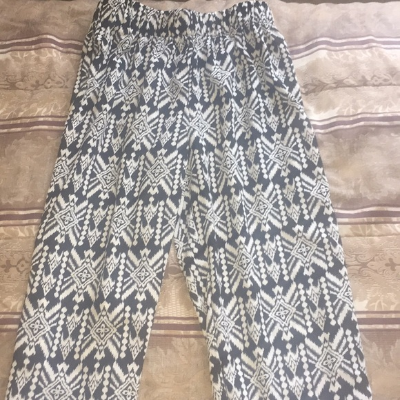 Ambiance Pants - Black and white leggings